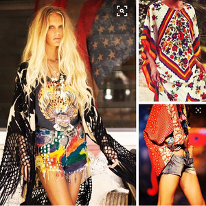 Preparing for the weekend - on a bohemian mood