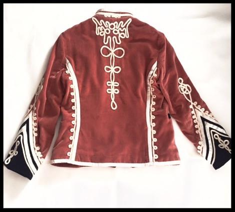 Velvet Military Jacket @work
