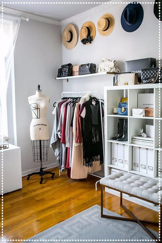 Wardrobe inspiration for small spaces!