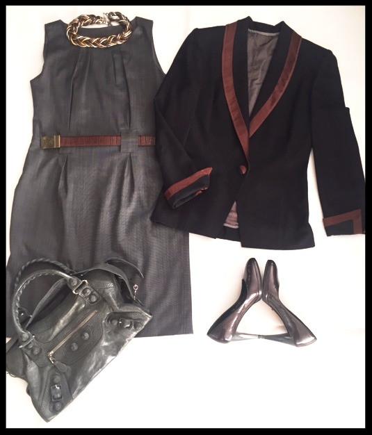 Sheath work dress