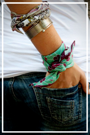The endless ideas for your scarf!