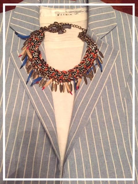 Smart tailoring: Sleeveless Blazer