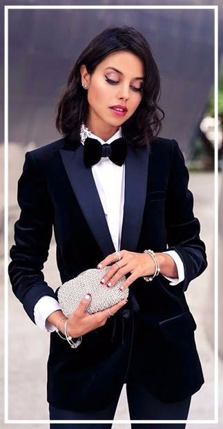 2016 Countdown- One Style each day: Day 1- Tuxedo @New Year's Eve party!