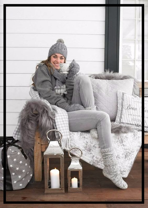 2016 Countdown- One Style each day: Day 6- Cozy time out!