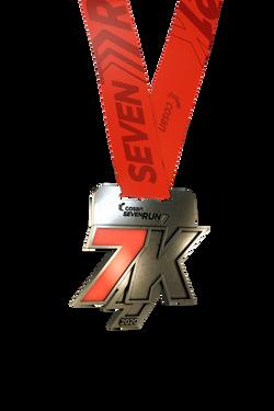 Medalha Seven Run