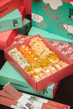 Embalagens Sushiko