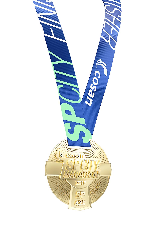 Medalha COSAN SP CITY 2019