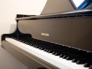 東長崎の教室にグランドピアノが!、DIAPASON