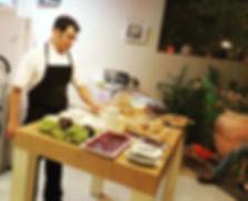 ארוחת שף - אסף האופה- מגוון מאפים ומנות ראשונות