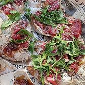 ארוחת שף - אסף האופה - קרפצ'ו סינטה ופטה כבד