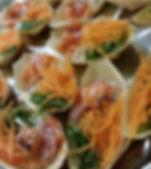 ארוחת שף - אסף האופה - סירות גרבלקס סלמון