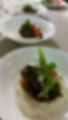 ארוחת שף - אסף האופה - ביף בורגניון על מצע פירה