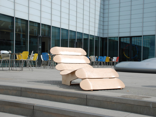 Workplace furniture with a playful side