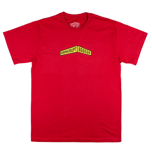 Red Banner Tee