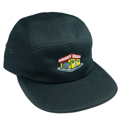Black Bodega Five Panel