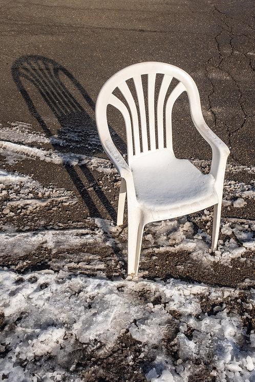 Parking Chair Print