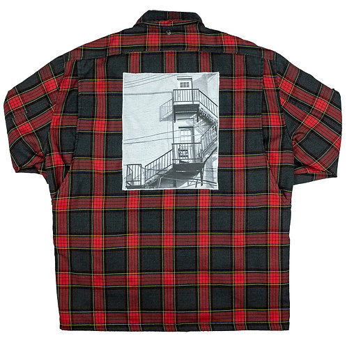 'Fire Escape' on Stussy jacket - L/XL