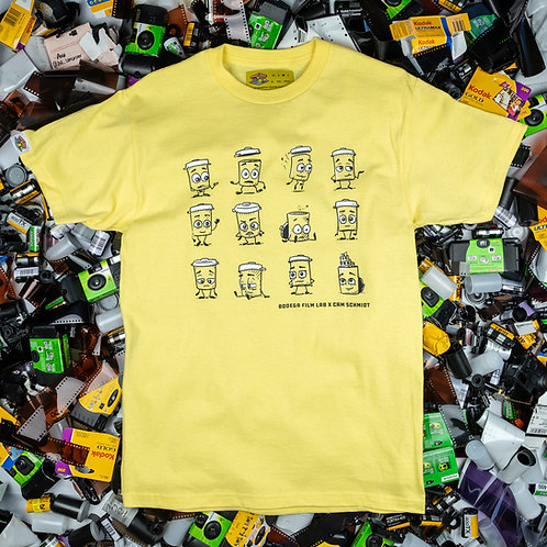 Film Emotions Tee - Cam Schmidt X Bodega Film Lab