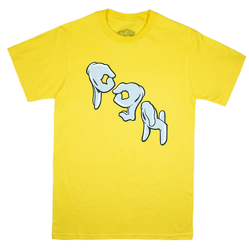 Pgh Hands Tee Yellow
