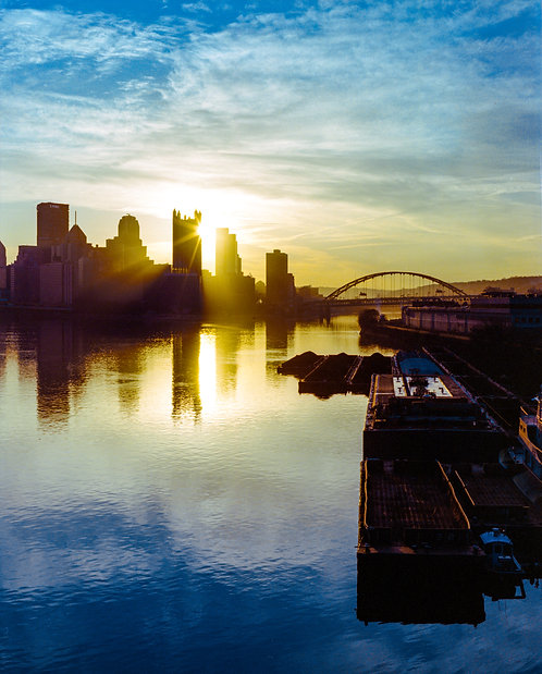 Pgh Halo Print - Vertical