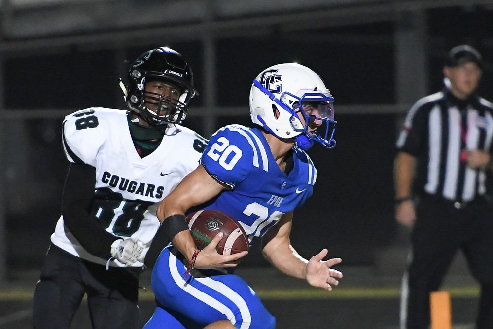 Jose Hernandez, Cedar Creek High School Eagles Football