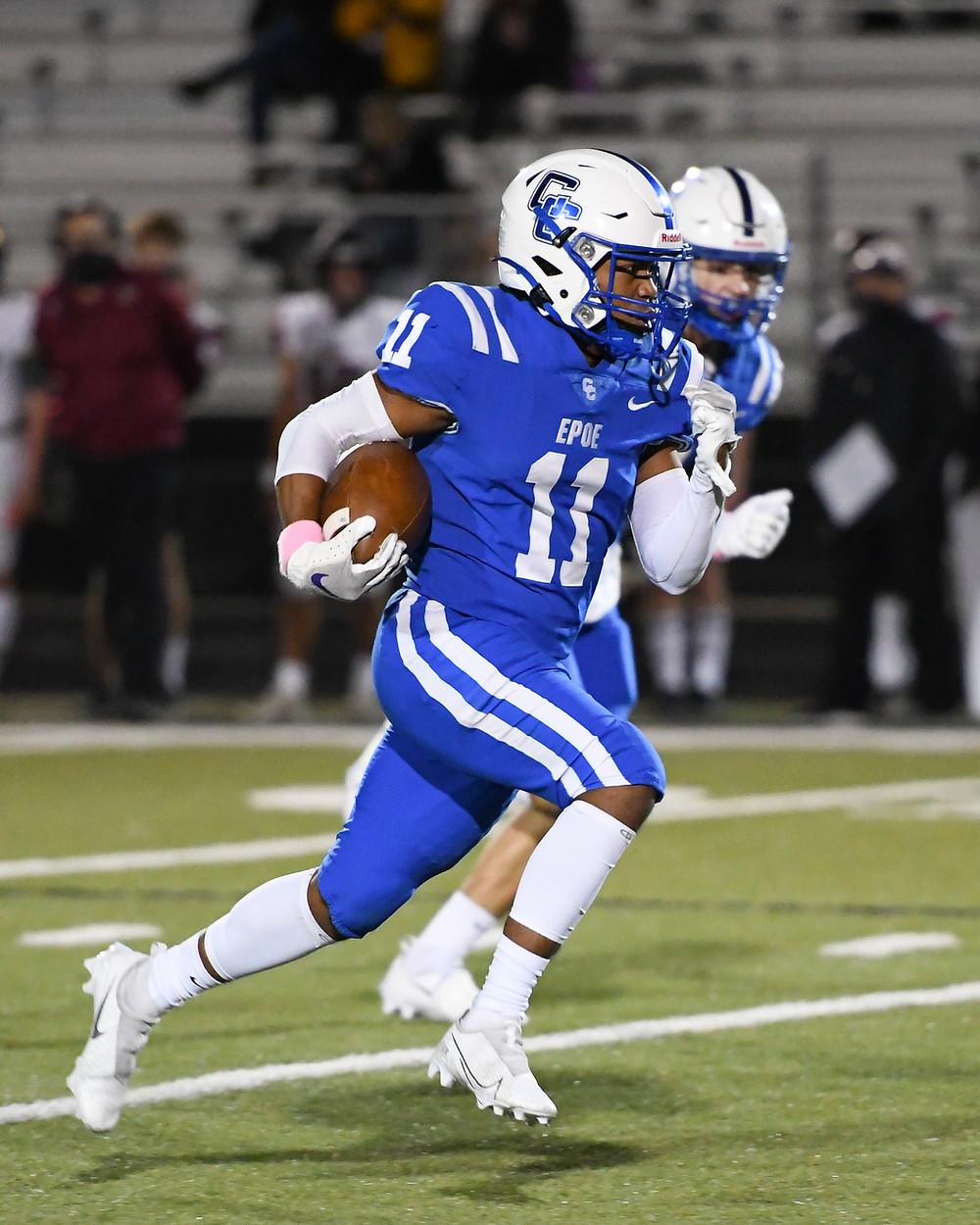 Damian Perez, Cedar Creek High School Eagles Football