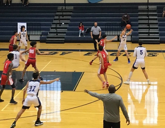 CCHS Varsity Boys Basketball, 2020-2021