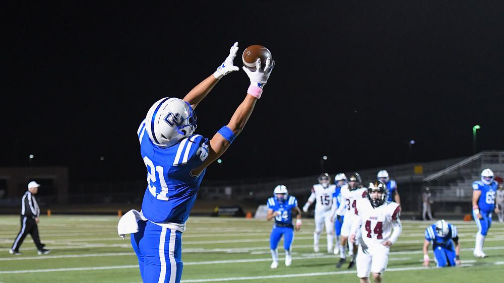 Dominic Mojica, Cedar Creek High School Eagles Football