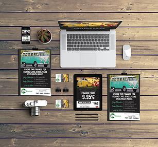 Studio Blue Graphic design service
