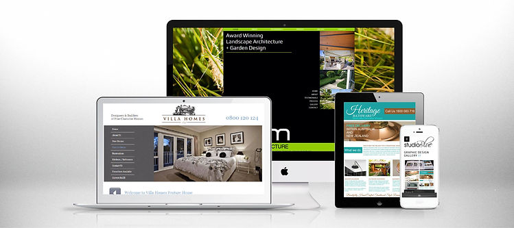 Studio Blue Creative Responsive Website Design