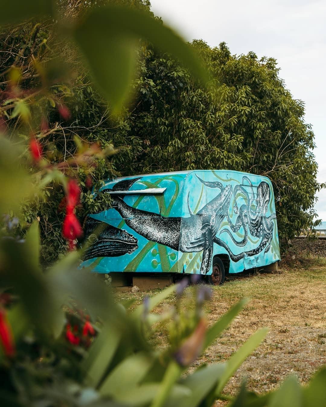 Roadside Caravan on SHW1