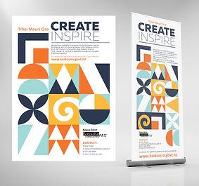 Studio Blue Creative Poster & banner design
