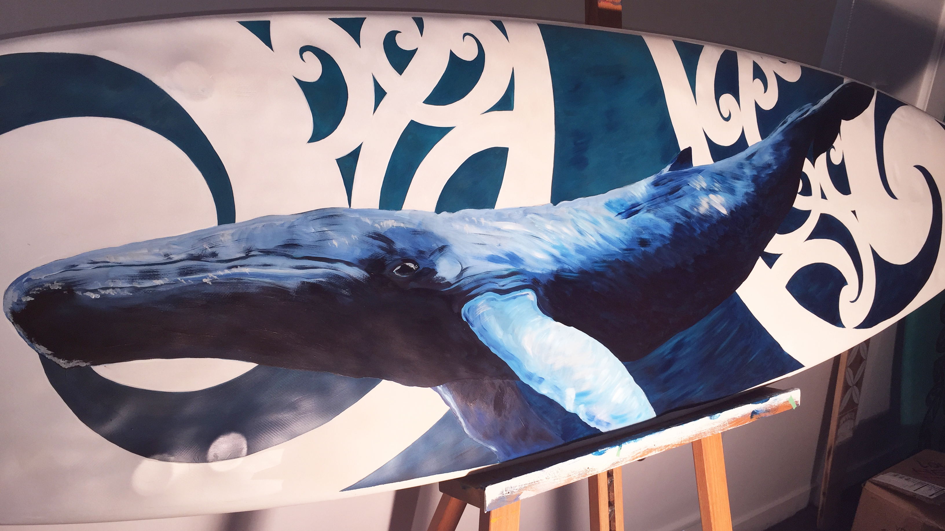 Studio Blue Creative Surfboard Art