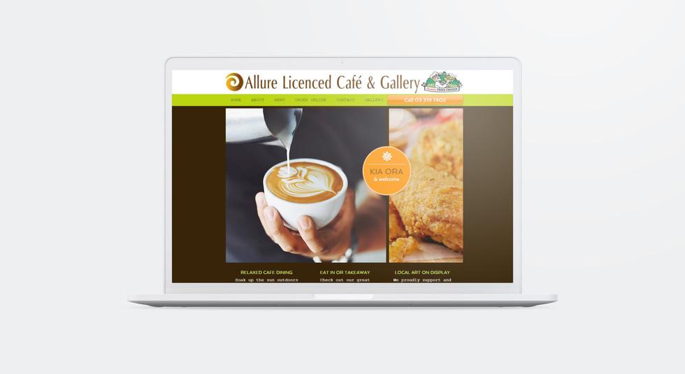Allure Licenced Café & Gallery