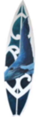 Humpback Whale Surfboard