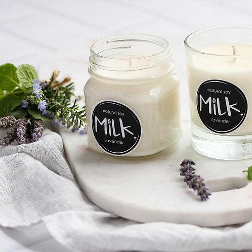 Natural Soy Candle Mason Jar - Lemongrass