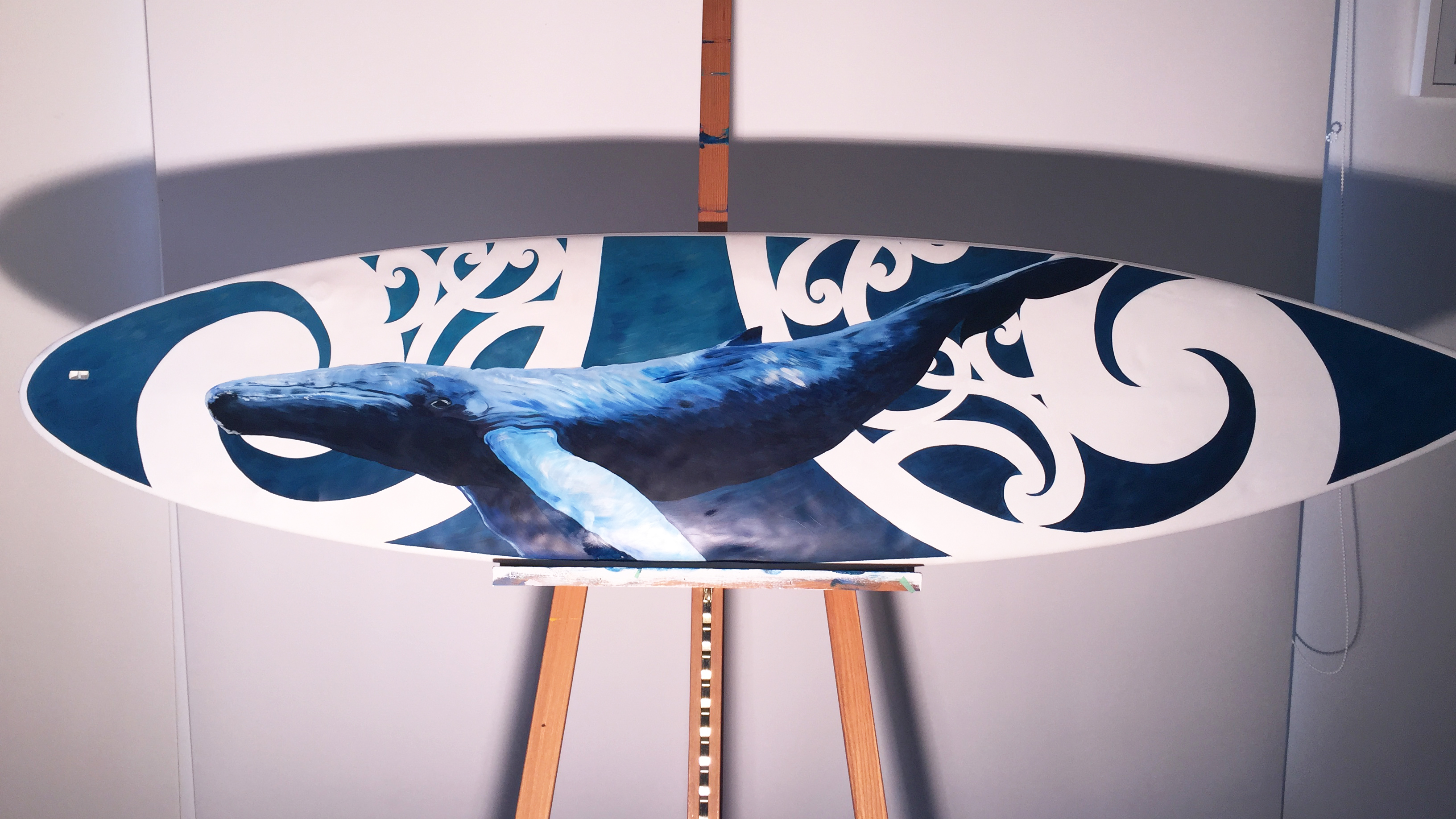 Surf Board Art by Janet Nikora