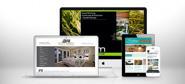 Studio Blue Creative Website Design