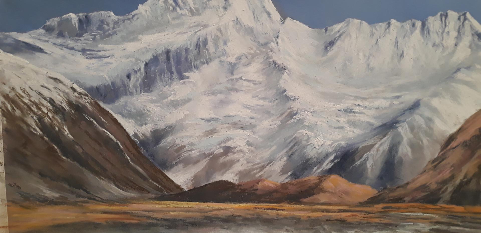 Mt Sefton, pastel.jpg