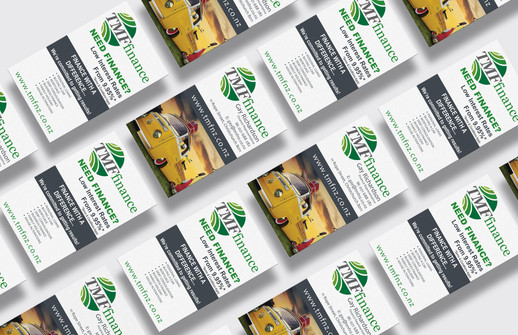 TMF Finance business cards