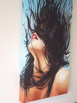 Oil painting by Janet Nikora