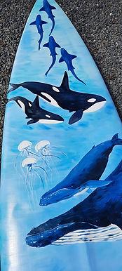 Surfboard Art by J Nikora
