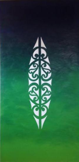 Acrylic on canvas by Janet Nikora