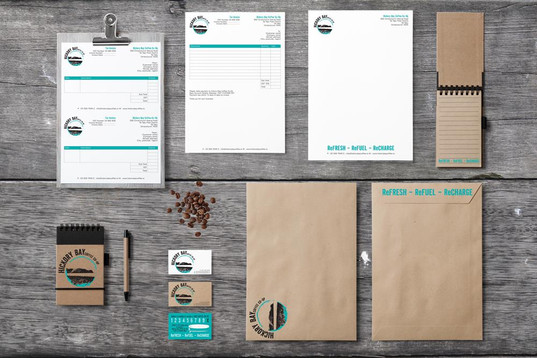 Hickory Bay Coffee Co-op brand concept & stationery