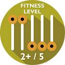 Driftwood Eco Tours Fitness Level Required 2+/5