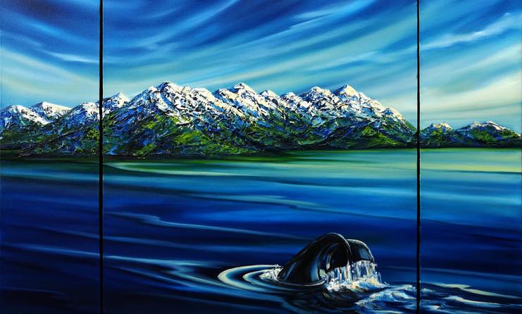 Majestic Kaikoura Triptych $945 5.5x24 1
