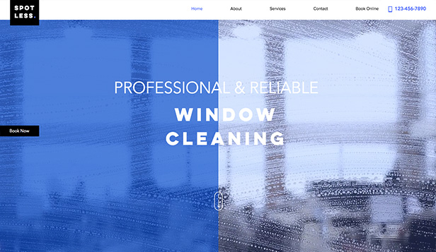 İş Dünyası website templates – Window Cleaners