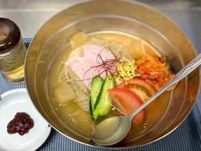 「韓国冷麺」