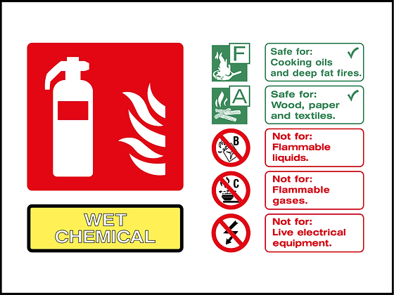 Fire Extinguisher - Wet Chemical