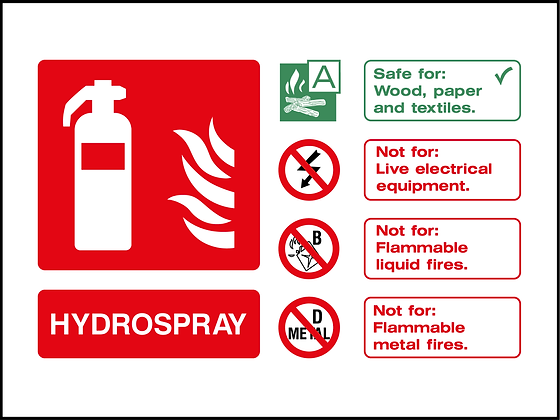 Fire Extinguisher - Hydrospray